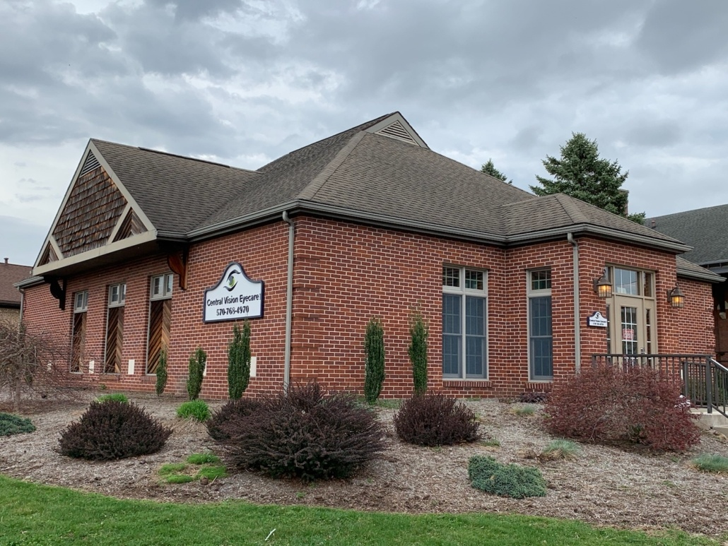 Central Vision Eyecare LLC Milton, PA Office